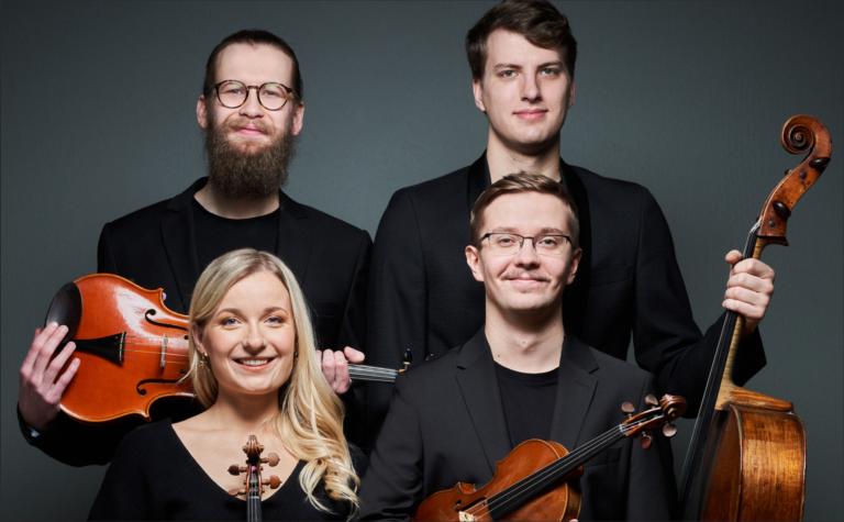 17.07 at 5 PM Pärnu Eliisabet Church, String Quartet M4GNET